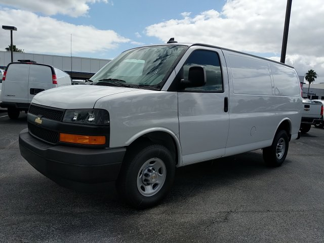 2019 Express 2500 4x2, Adrian Steel Commercial Shelving Upfitted Cargo Van #K1261707 - photo 9