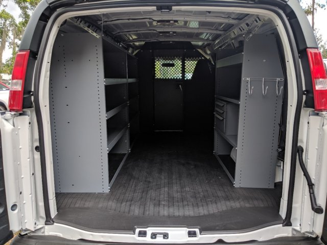 2019 Express 2500 4x2,  Masterack Steel General Service Upfitted Cargo Van #K1263978 - photo 2