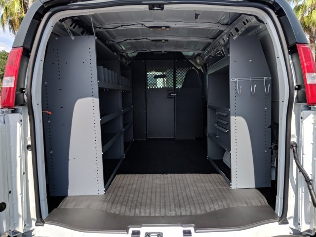 2019 Express 2500 4x2,  Masterack Steel General Service Upfitted Cargo Van #K1264233 - photo 2