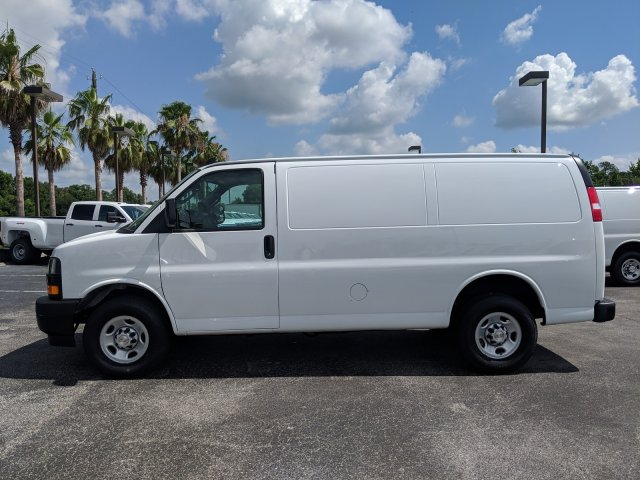2019 Express 2500 4x2,  Masterack Steel General Service Upfitted Cargo Van #K1264233 - photo 9