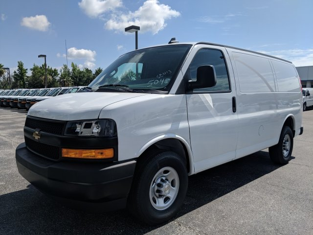 2019 Express 2500 4x2,  Adrian Steel Commercial Shelving Upfitted Cargo Van #K1265048 - photo 10