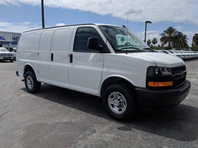 2019 Express 2500 4x2,  Adrian Steel Commercial Shelving Upfitted Cargo Van #K1267130 - photo 4