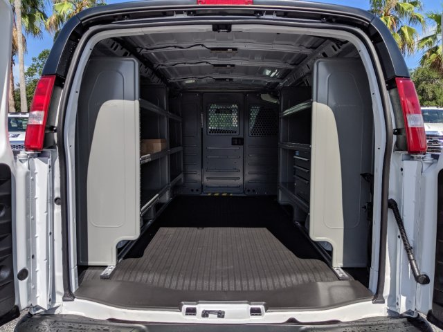 2019 Express 2500 4x2, Adrian Steel Commercial Shelving Upfitted Cargo Van #K1267271 - photo 2