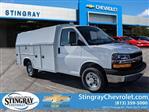2019 Chevrolet Express 3500 RWD, Knapheide KUV Service Utility Van #K1365426 - photo 3