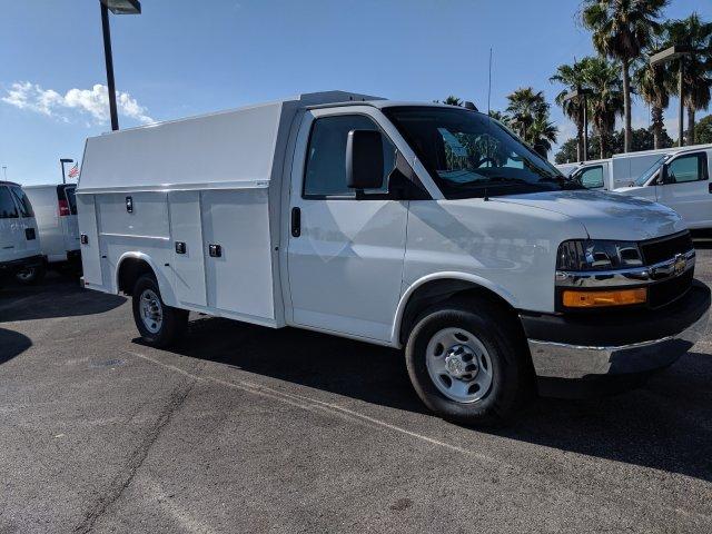2019 Chevrolet Express 3500 RWD, Knapheide KUV Service Utility Van #K1366052 - photo 4