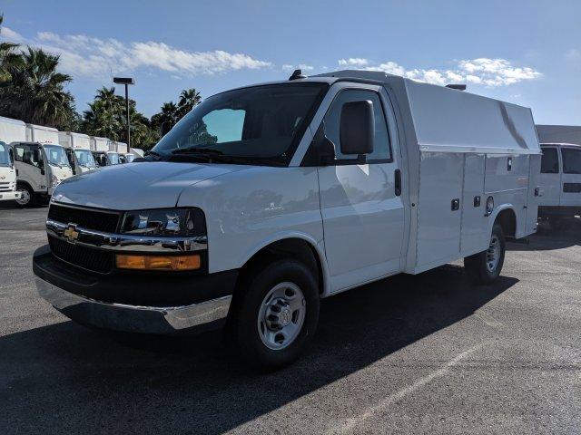 2019 Chevrolet Express 3500 RWD, Knapheide Service Utility Van #K1366052 - photo 1
