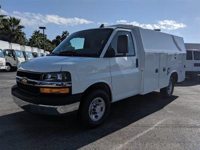 2019 Chevrolet Express 3500 RWD, Knapheide KUV Service Utility Van #K1366052 - photo 1