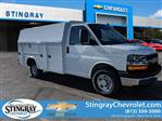 2019 Chevrolet Express 3500 RWD, Knapheide KUV Service Utility Van #K1366052 - photo 3