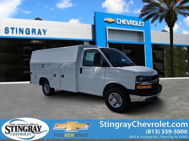 2019 Chevrolet Express 3500 4x2, Knapheide Service Utility Van #K1366551 - photo 1