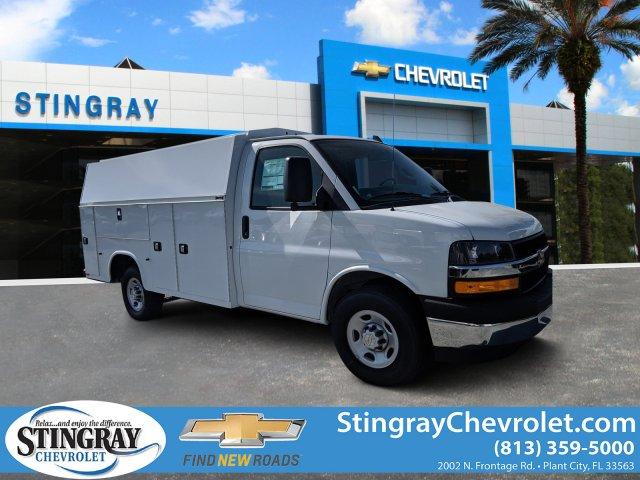 2019 Chevrolet Express 3500 4x2, Knapheide Service Utility Van #K1368326 - photo 1
