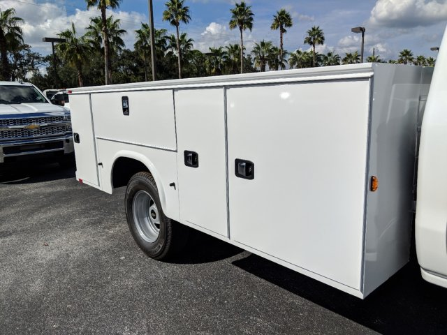 2019 Silverado 3500 Regular Cab DRW 4x4,  Knapheide Service Body #KF120400 - photo 12