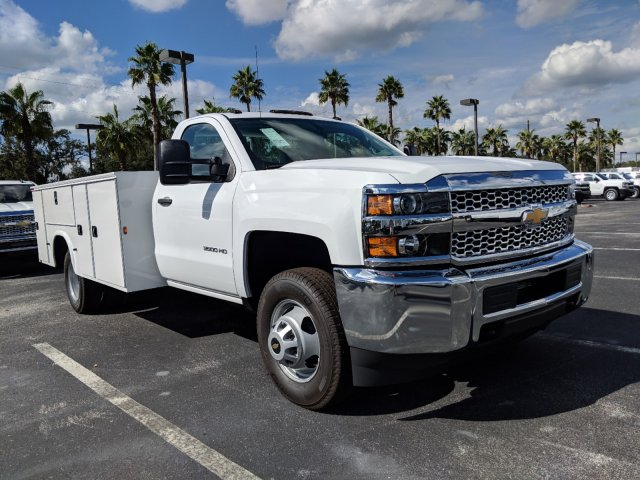 2019 Silverado 3500 Regular Cab DRW 4x4,  Knapheide Service Body #KF120400 - photo 4