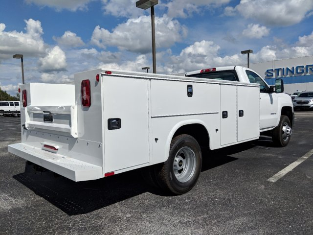 2019 Silverado 3500 Regular Cab DRW 4x4,  Knapheide Service Body #KF120400 - photo 2