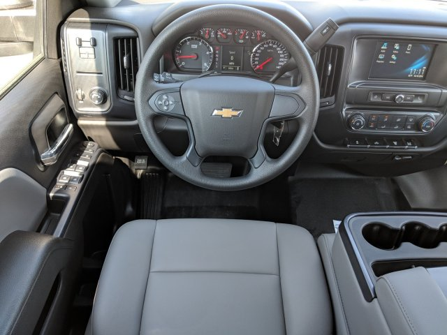 2019 Silverado 3500 Crew Cab DRW 4x2,  Rugby Dump Body #KF145759 - photo 14