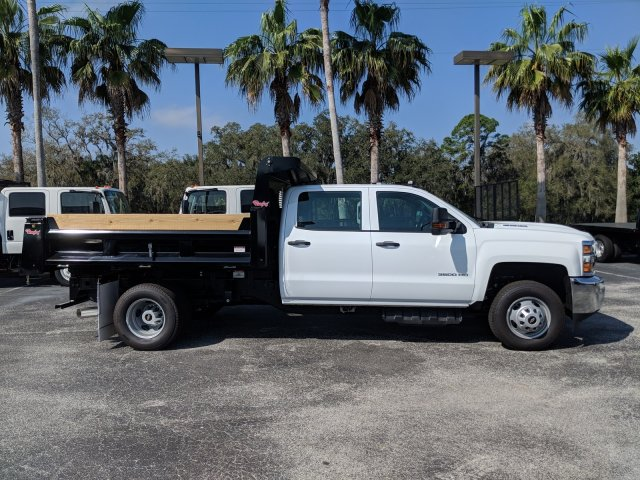 2019 Silverado 3500 Crew Cab DRW 4x2,  Rugby Dump Body #KF145759 - photo 6