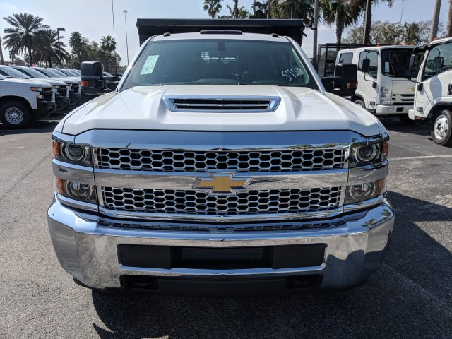 2019 Silverado 3500 Crew Cab DRW 4x2,  Rugby Dump Body #KF145759 - photo 8