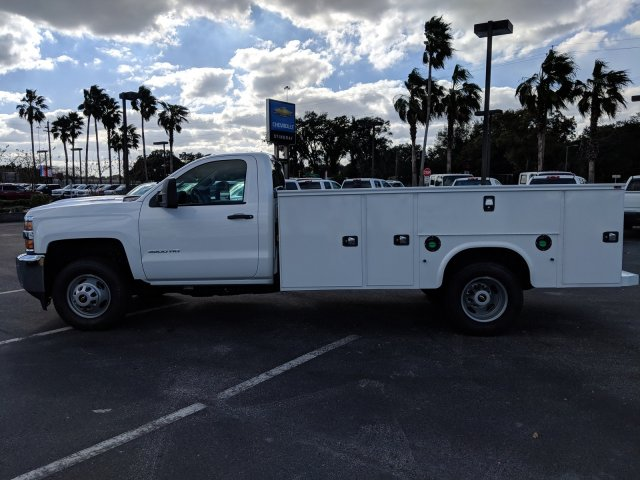 2019 Silverado 3500 Regular Cab DRW 4x2,  Knapheide Service Body #KF145915 - photo 7