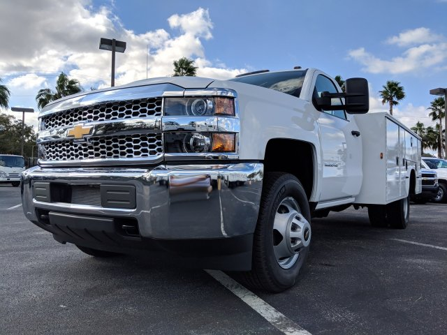 2019 Silverado 3500 Regular Cab DRW 4x2,  Knapheide Service Body #KF145915 - photo 8