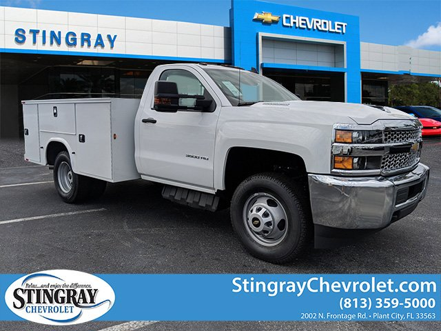 2019 Silverado 3500 Regular Cab DRW 4x4,  Knapheide Service Body #KF159400 - photo 1