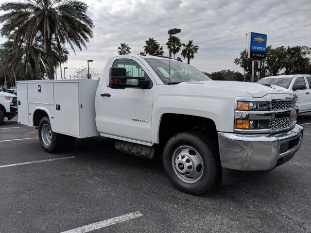 2019 Silverado 3500 Regular Cab DRW 4x4,  Knapheide Service Body #KF159400 - photo 3