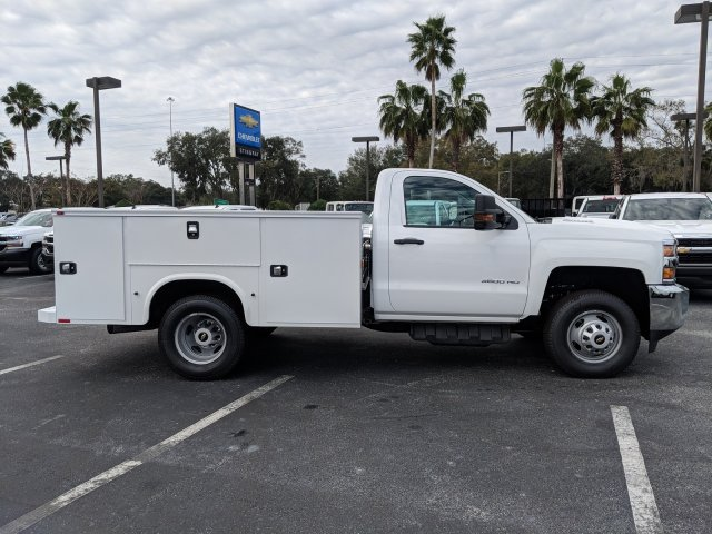 2019 Silverado 3500 Regular Cab DRW 4x4,  Knapheide Service Body #KF159400 - photo 4
