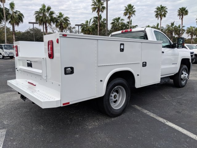 2019 Silverado 3500 Regular Cab DRW 4x4,  Knapheide Service Body #KF159400 - photo 2