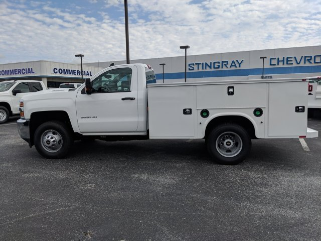 2019 Silverado 3500 Regular Cab DRW 4x4,  Knapheide Service Body #KF159400 - photo 7
