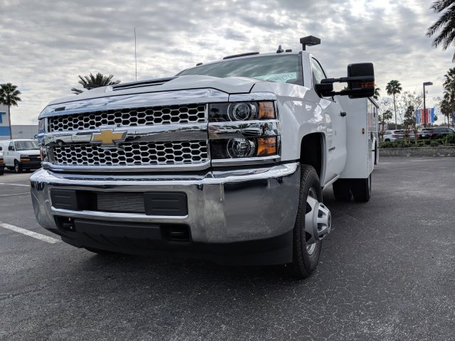 2019 Silverado 3500 Regular Cab DRW 4x4,  Knapheide Service Body #KF159400 - photo 8