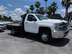 2019 Silverado 3500 Regular Cab DRW 4x4,  CM Truck Beds SK Model Platform Body #KF160281 - photo 3