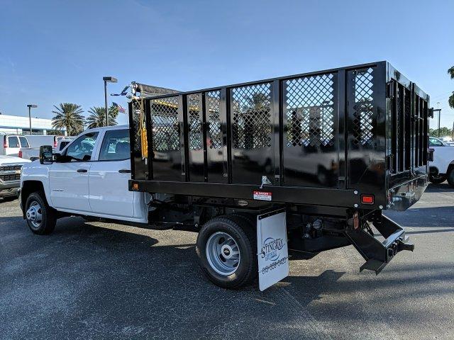 2019 Silverado 3500 Crew Cab DRW 4x2,  Knapheide Landscape Dump #KF211398 - photo 3