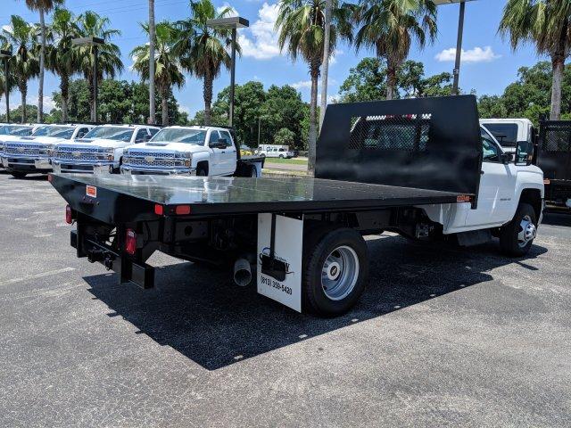 2019 Silverado 3500 Regular Cab DRW 4x4,  Action Fabrication Platform Body #KF220191 - photo 1