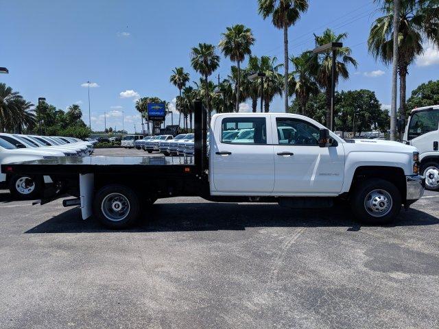 2019 Silverado 3500 Crew Cab DRW 4x4,  Knapheide Value-Master X Platform Body #KF245149 - photo 4