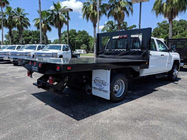 2019 Silverado 3500 Crew Cab DRW 4x4,  Knapheide Platform Body #KF245149 - photo 1