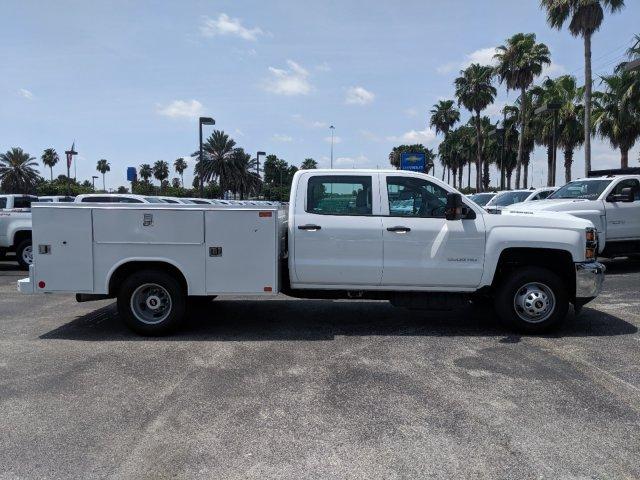 2019 Silverado 3500 Crew Cab DRW 4x4,  Reading SL Service Body #KF246339 - photo 3