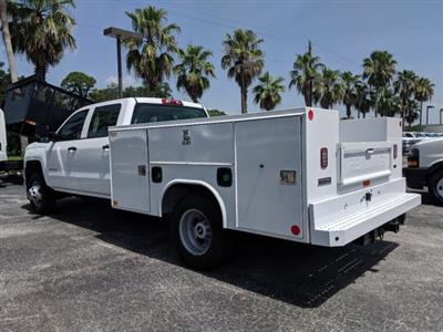 2019 Silverado 3500 Crew Cab DRW 4x4,  Reading SL Service Body #KF246339 - photo 6