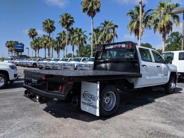 2019 Silverado 3500 Crew Cab DRW 4x4,  Knapheide Platform Body #KF248573 - photo 1
