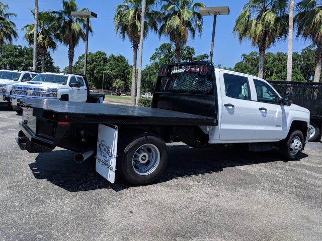 2019 Silverado 3500 Crew Cab DRW 4x4,  Knapheide Platform Body #KF249554 - photo 1