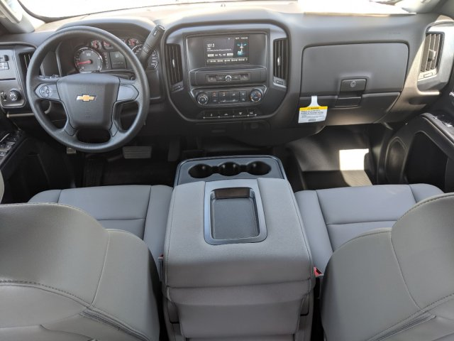 2019 Silverado 3500 Crew Cab DRW 4x4,  CM Truck Beds Platform Body #KF249810 - photo 13