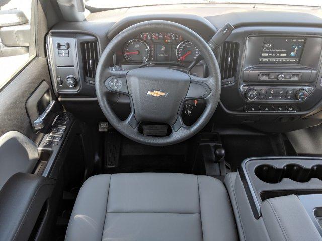 2019 Silverado 3500 Crew Cab DRW 4x4,  CM Truck Beds Platform Body #KF249810 - photo 14