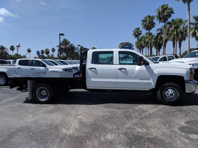 2019 Silverado 3500 Crew Cab DRW 4x4,  CM Truck Beds Platform Body #KF249810 - photo 3