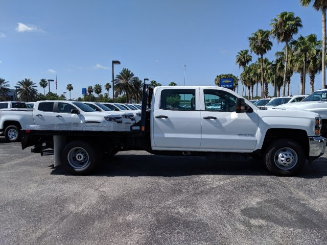 2019 Silverado 3500 Crew Cab DRW 4x4,  CM Truck Beds Platform Body #KF251417 - photo 3