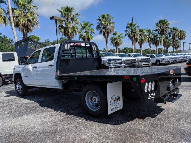 2019 Silverado 3500 Crew Cab DRW 4x4,  CM Truck Beds Platform Body #KF251417 - photo 6