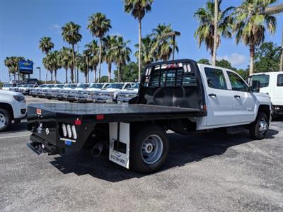 2019 Silverado 3500 Crew Cab DRW 4x4,  CM Truck Beds Platform Body #KF251417 - photo 2