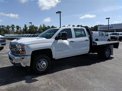 2019 Silverado 3500 Crew Cab DRW 4x4,  CM Truck Beds Platform Body #KF251417 - photo 7