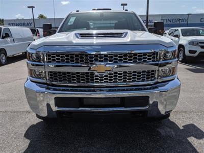 2019 Silverado 3500 Crew Cab DRW 4x4,  CM Truck Beds Platform Body #KF251417 - photo 8