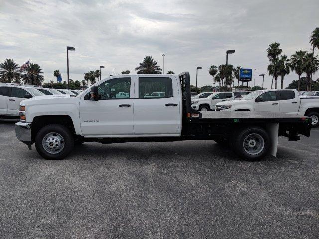 2019 Silverado 3500 Crew Cab DRW 4x4,  CM Truck Beds Platform Body #KF251664 - photo 7