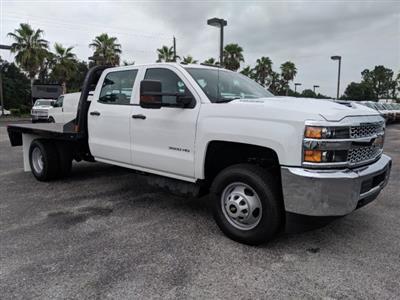 2019 Silverado 3500 Crew Cab DRW 4x4,  CM Truck Beds Platform Body #KF251664 - photo 3