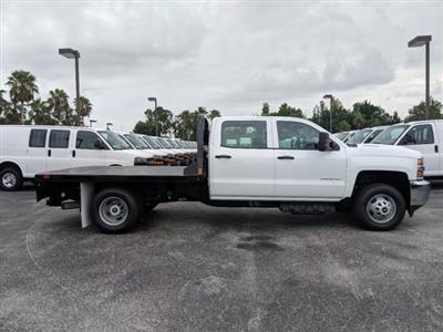 2019 Silverado 3500 Crew Cab DRW 4x4,  CM Truck Beds Platform Body #KF251664 - photo 4