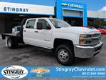 2019 Silverado 3500 Crew Cab DRW 4x4,  CM Truck Beds Platform Body #KF251664 - photo 1