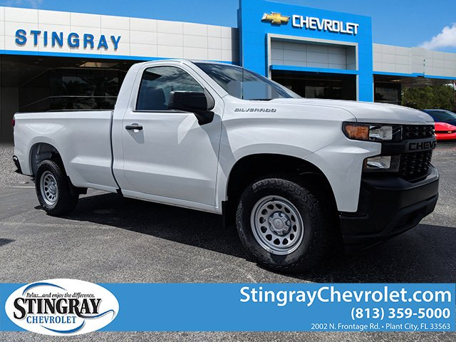 2019 Silverado 1500 Regular Cab 4x2,  Pickup #KG169355 - photo 1